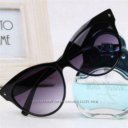 Солнцезащитные женский очки кошачий глаз