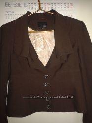Стильный фактурный пиджак Next 16 размера