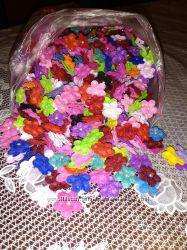 Цветочки из фетра для рукоделия фурнитура
