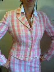 классический костюм в стиле Шанель р. М, сшит на заказ