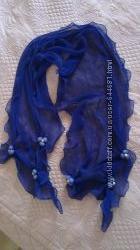 Яскравий шифоновий шарф