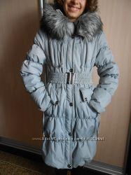 Зимняя куртка на девушку в отличном состоянии 44 - 46р.