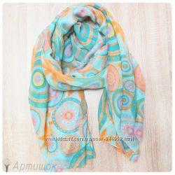 Легкие весенние шарфики