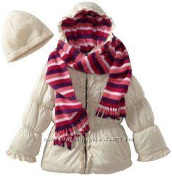 Pink Platinum курточка зимняя для девочки. Шапка  шарф в подарок.