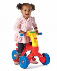 Fisher-Price беговел Bright Beginnings Ready Steady Ride-On