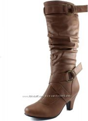 Новые деми сапоги из Америки Daily Shoes размер 41 или 11 пролет