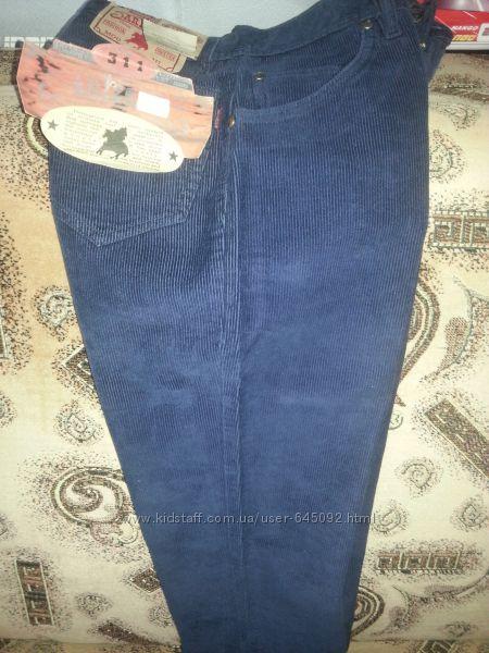 Вельветовые брюки штаны Новые Arizona W26 L30