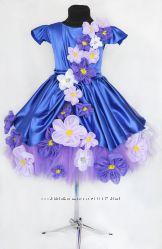 Платье нарядное Фиалка Монмартра  Прокат 250