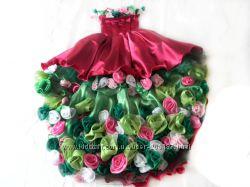 Праздничное платье VIRGIFLORA ПРОКАТ  ПОШИВ