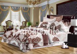 Комплект постельного белья с абстракцией
