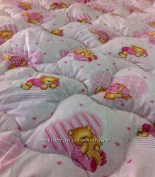 Детское одеяло шерстяное бязь 100