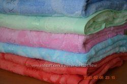 Бамбуковые полотенца в упаковке