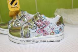 Туфельки от Clibee, красивые, стильные и качественные, 2 цвета, р 26-31