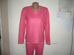 пижама женская ангора теплая турция новая в наличии m l xl xxl