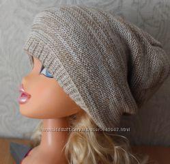Модная шапочка для стильной малышки