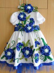 Платье вышитое лентами новое ba98c5bfc362d
