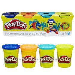 Набор пластилина Play-Doh 4 цвета общим весом 448 грамм Морские жители