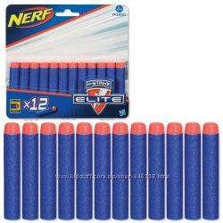 Комплект стрел для бластеров Nerf Elite 12 шт. Оригинал Hasbro