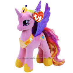 Мягкая игрушка Май литл пони принцесса Каденс высотой 23 см. Оригинал Ty