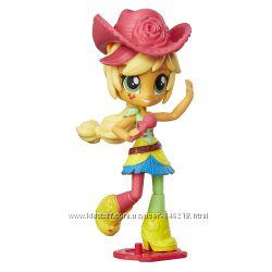 Май литл пони мини-кукла Девушки Эквестрии Эпл Джек шарнирная с микрофоном