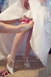 Устойчивые и удобные свадебные туфли Louisa Peeress, состояние идеальное