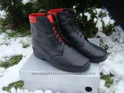 Кожаные ортопедические ботинки зимние и демисезонные, размеры 38, 40