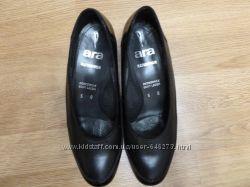 Туфли женские кожаные ara раз. 37