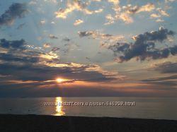 Отдых на берегу моря Грибовка