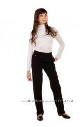 Новые утепленные брюки для школы на девочку с сайта Ташкан, размер 40