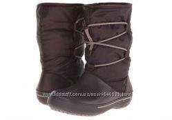 Женские Crocs Crocband 2. 5 Cinch Snow Boots, р. W8.