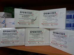 Лицензированные экспресс-тесты ВИЧ 1-2 СПИД, Гепатит В, Гепатит С, Сифилис