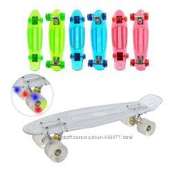 Скейт, светящиеся колеса, разновидности