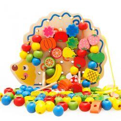 Скидки до 30 . Большой выбор деревянных игрушек и развивалок для деток