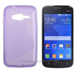 Чехлы Samsung Galaxy Ace G313 пластиковые и силиконовые