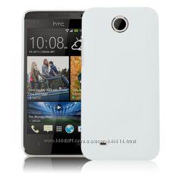 Чехлы для HTC Desire 300 пластиковые и силиконовые