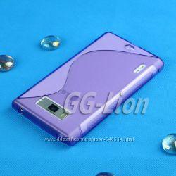 Чехлы для LG Optimus L7 пластиковые и силиконовые