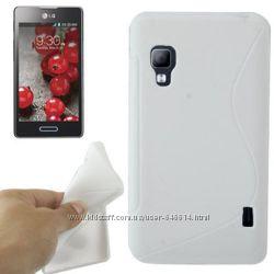 Чехлы для LG Optimus L5 II Dual E460 пластиковые и силиконовые
