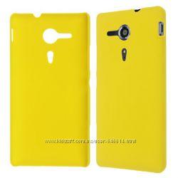 Чехлы для Sony Xperia SP пластиковые и силиконовые