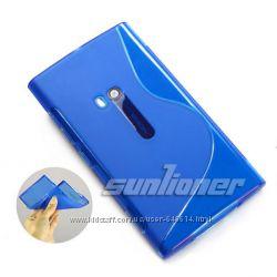 Чехлы для Nokia Lumia 920 пластиковые и силиконовые