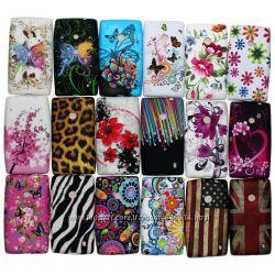 Чехлы для Nokia Lumia 520 пластиковые и силиконовые