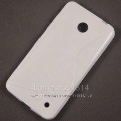 Чехлы для Nokia Lumia 630 пластиковые и силиконовые