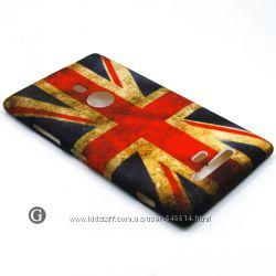 Чехлы для Nokia Lumia 925 пластиковые и силиконовые