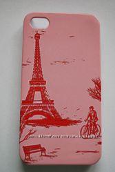 Чехлы пластиковые Париж для Iphone 4 4s