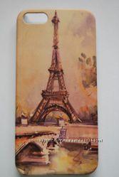 Чехлы пластиковые Париж для Iphone 6