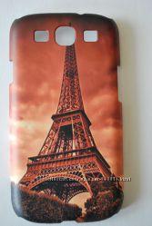 Чехлы пластиковые Париж для Samsung Galaxy S3 S4 S5 S6 Note 2 3 G530H G7102