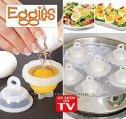 Формочки для варки яиц eggies без скорлупы