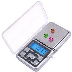 Карманные ювелирные электронные весы 0, 01-100 гр