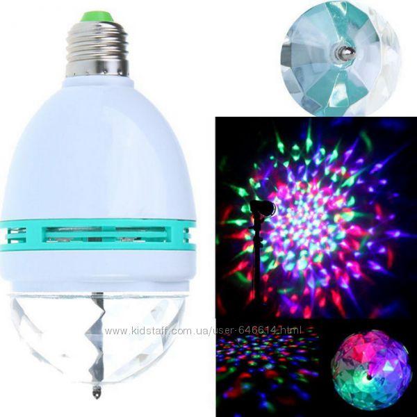 Светодиодная диско лампа LED Mini Party LY-399