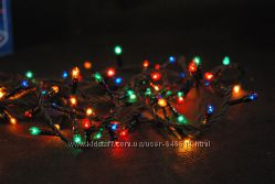 Гирлянда новогодняя 300 лампочек мульти цвет