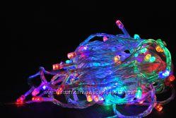 Гирлянда светодиодная 100 LED мульти